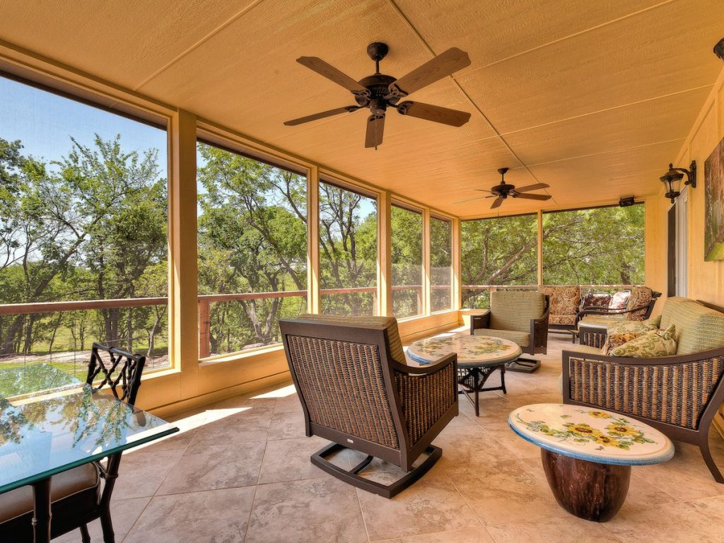 Add Function And Style With A Screened Porch Installed By
