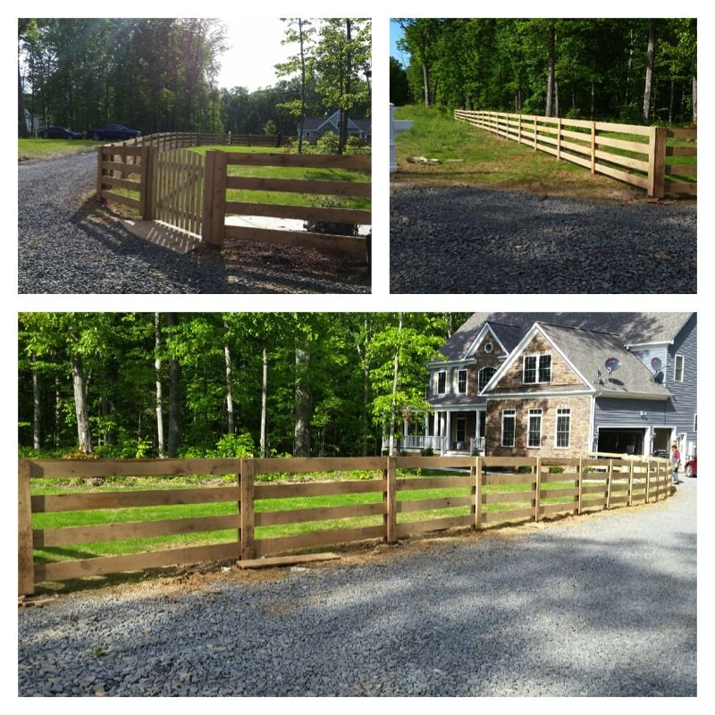 what can a 4 board oak paddock style fence do for you