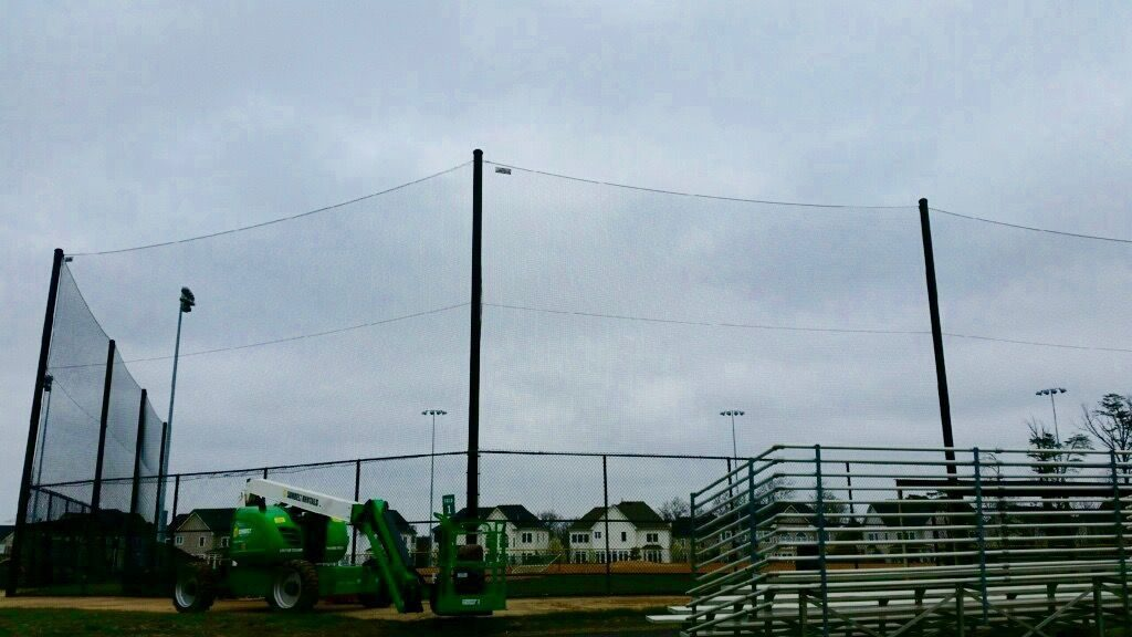 plan for a baseball backstop now before the season begins