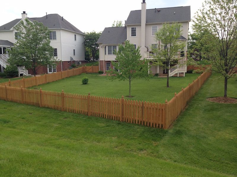 Wood Fences Would Be An Excellent Addition Beitzell Fence