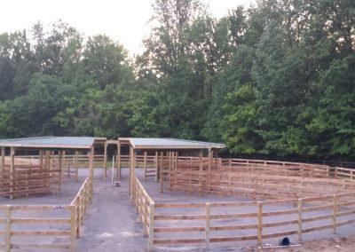 4 Board Paddock Horse Rink
