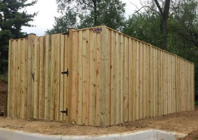 8' Board on Batten Generator Enclosure