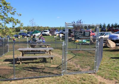 Temporary Dog Park Enclosure