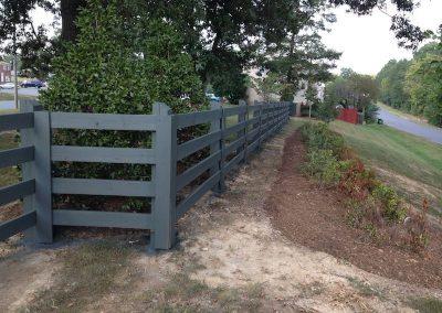 4 Board Oak Paddock Perimeter Fencing