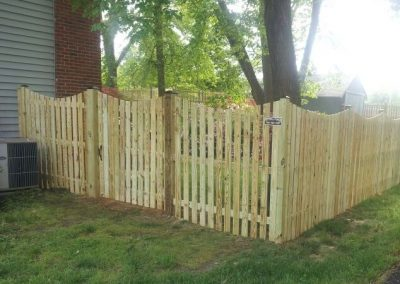 6' Spaced Picket with Dip