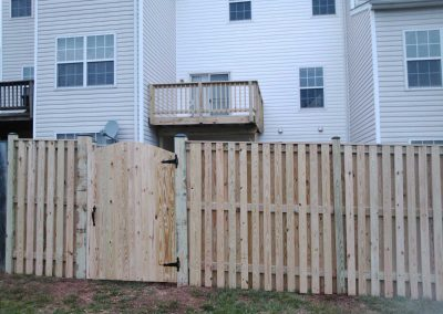 6' Board on Board & Townhouse Deck