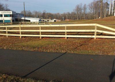 3 Board Paddock Perimeter Fence